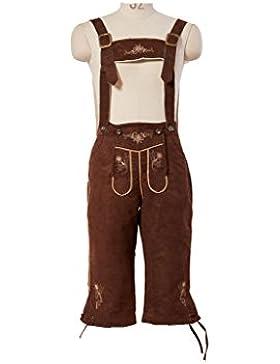 Fuman Kniebundhose Toni Oktoberfest Trachtenhose Kostüm