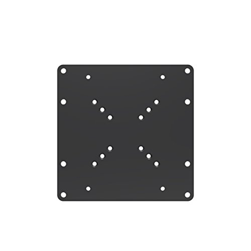 conecto CC50305 Universeller VESA Adpapter VESA 50x50 bis 200x200, 1-teilig, schwarz Vesa-adapter