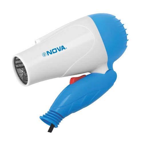F.B.Accessories Nova Professional Folding Hair Dryer with 2 Speed Control 1000W