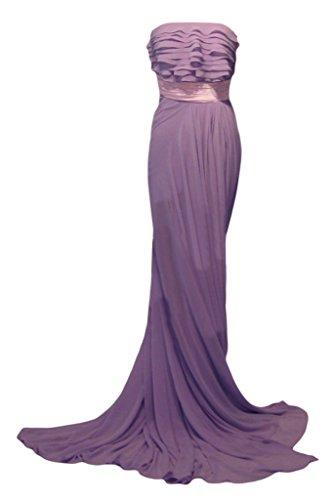 ivyd ressing Femme Fashion longue mousseline porteur Los Pierre Lave-vaisselle robe robe du soir Lilas