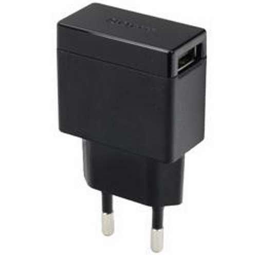 Power Plug Presa Adattatore da viaggio su USB caricabatteria da auto per iPod e USB Lettore MP3ricaricabile 230V, 220V in nero + Panno in microfibra