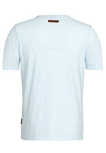Naketano Male T-Shirt Italienischer Hengst VI Cloudy Melange
