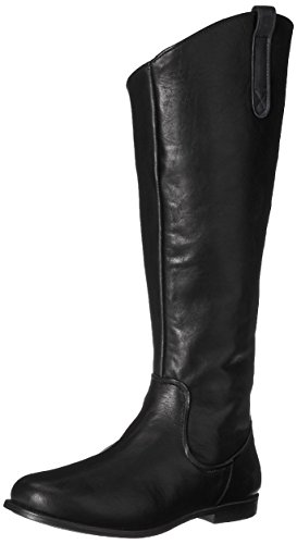 Sebago Damen Plaza Tall Boot Reitstiefel, Schwarz (Black Leather), 40 EU