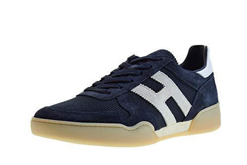 Hogan Scarpe Uomo Sneakers Basse HXM3570AC40IPJ558O H357 Taglia 9(43) Blu