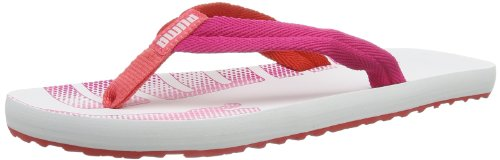 PUMA Epic Flip Wns Color Blocking 187112 Damen Zehentrenner, Weiß (white 03), EU 35.5 (UK 3) (US 5.5)