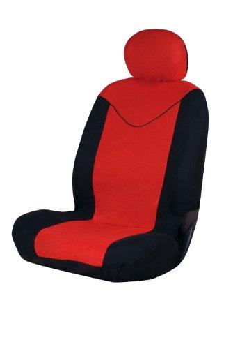 START Coprisedile Singolo Anteriore Sun Nero Compatibili Airbag Taglia Universale Auto