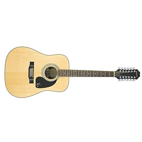 Epiphone DR-212 Guitare acoustique Dreadought 12 Cordes Natural