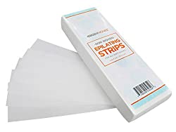 Non-woven Hair Removal Waxing Strips, 100 Pack (3x9)