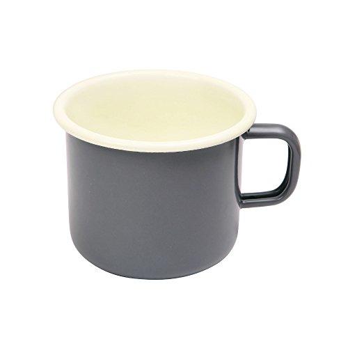 Dexam Vintage Home Mug en émail, gris ardoise