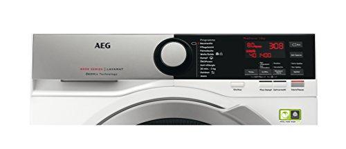 AEG LAVAMAT L8FE74485 Waschmaschine Frontlader / A+++ / 97 kWh/Jahr / 8 Kg / 1400 UpM / Ökomix Technologie / weiß - 4