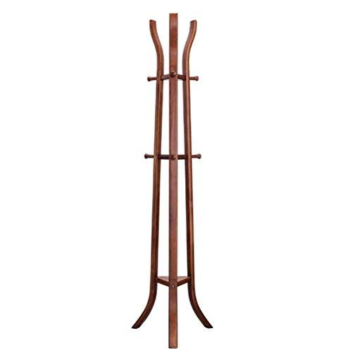 Kleiderbügel für Hüte Neue Chinesische Massivholzboden Garderobe Schlafzimmer Ecke Kleiderständer Einfache Moderne Multifunktionale Boden Kleiderbügel ()