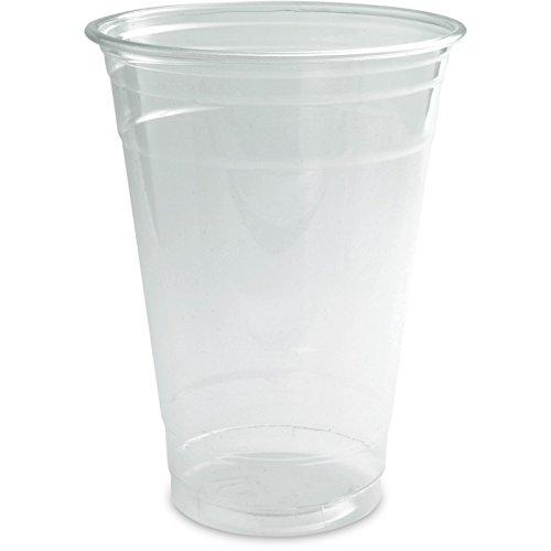 1000 Clear Cups (Smoothie-Becher) - Plastikbecher PET - verschiedene Größen (16oz, 0,4l)