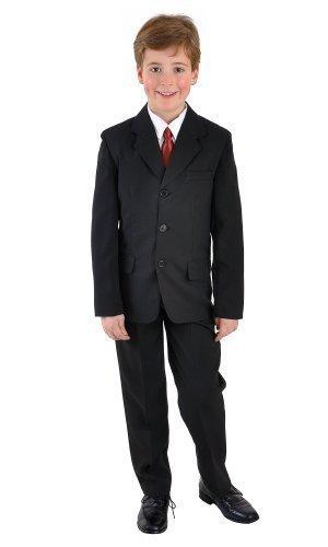 5tlg Jungenanzug Jugendanzug Konfirmationsanzug Firmung Gr.164-182 uni schwarz, Grösse Bekleidung:170/176;Farbe:Schwarz
