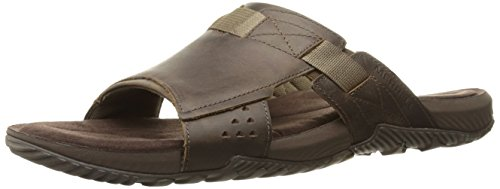 merrell-men-terrant-slide-open-toe-sandals-brown-dark-earth-9-uk-43-eu