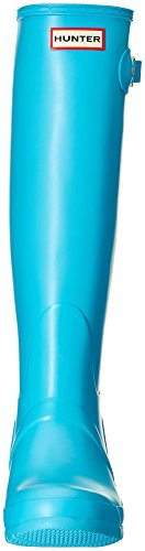 Hunter Damen Womens Org Tall Gummistiefel Himmelblau