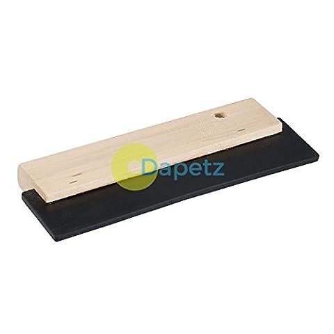 Daptez Raclette En Caoutchouc 200mm Dents Sol Carrelage Mural Joint Adhésif Applicateur Épandeur