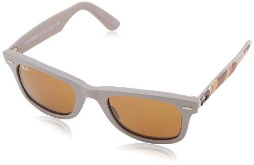 Ray Ban Unisex Sonnenbrille Wayfarer Original, Gr. Small (Herstellergröße: 50), Mehrfarbig (bronze-kupfer 6063)