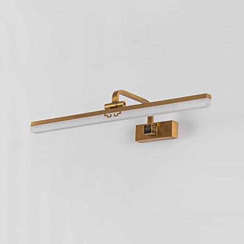 WYDM Spiegelleuchte, LED Einfache Spiegelschrank Bad Eitelkeitslicht Badezimmer Chinesische Spiegellampe (größe : 16W/38cm) - Badezimmer Lichtbalken Für