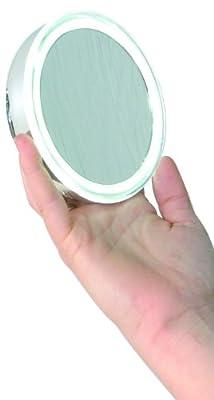 Enzo Rodi 411610 LED-Klemmspiegel Alimos / Ø 10.5 cm / chrom mit Klemme von Roman Dietsche Gmbh bei Spiegel Online Shop
