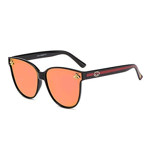 UV401 ProtectionPolarized Sunglasses_Fashion Polarized Sunglasses Herren und Damen Sonnenbrillen Trendy GlassesBlack frame iris