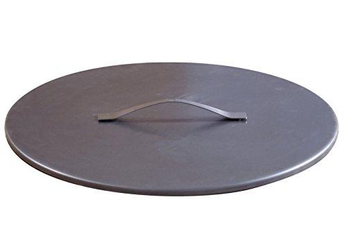 Svenskav Deckel aus Rohstahl für Svenskav Feuerschalen 63 cm Z/VOMA/ARKA/CUBE/BASIC