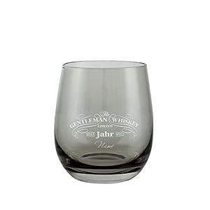 Leonardo Whiskyglas inkl Home, Furniture & DIY Gravur Jubiläum Ährenkranz Banner
