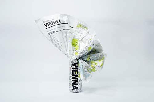 Crumpled City Vienna (internationale Ausgabe des Stadtplans Wien/Vienna in englischer Sprache): Die cleveren Stadtpläne für Großstadtnomaden (Crumpled City Maps)