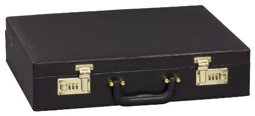 GRÄWE Aktenkoffer Attachekoffer Besteckkoffer (leer), schwarz, mit Zahlenschloss
