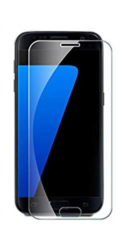 Galaxy S7 Panzerglas Glasfolie Schutzfolie,[Anti-Kratzen] Hartglas Display Folie Full Coverage Screen Protector Schutzglas für Samsung Galaxy S7 (1)