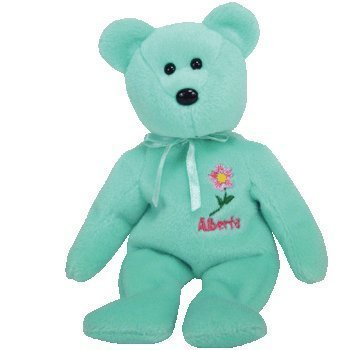 Alberta Rose (TY Beanie Baby - ALBERTA WILD ROSE the Bear (Canada Show Exclusive) by Ty)