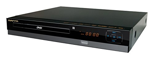 Manta DVD064S Emperor Basic 5 DVD-Player / CD Player (DivX, Xvid, SCART, USB 2.0, Cinch) schwarz