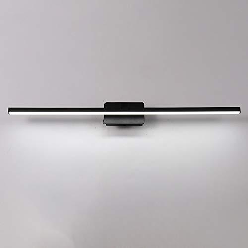 ETH Europäische minimalistische Spiegel Scheinwerfer führte wasserdichte Anti-Fog Bad Badezimmer Wandleuchte Spiegel Schrank Licht Schlafzimmer Eitelkeit Spiegel Hell (Size : 50CM) -