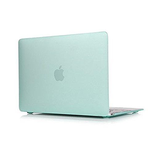 Glatte, Soft-Touch-Matte Kunststoff Hard Shell Schutzhülle für Apple MacBook Pro 15,439,1cm mit Touch Bar und Touch ID 2016Release A1707 grün 39,12 cm (Macbook Soft-pro Fall)