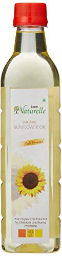 Farm Naturelle Organic Sunflower Oil, 415ml