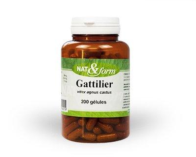 Gattilier Gatillier 200 Gélules - Nat Et Form - Atlantic Nature