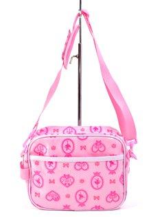 I bambini di andare a borsa tracolla scuola materna ballerina in mirror (rosa) realizzati in Giappone N0526600 (japan import)