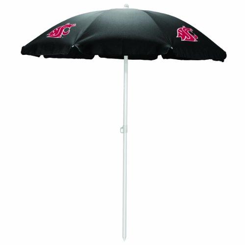 NCAA UNLV Rebels tragbar Sonnenschirm Regenschirm, unisex, Black,Washington State University Cougars (Cougars Washington University State)