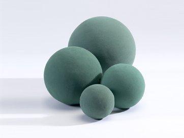 5 confezioni Oasis Ideal 9 centimetri rotondo sfera sfera della gomma piuma bagnata a per fioristi floreali Craft Fiori Fiorai Matrimoni disegni e display Topiary