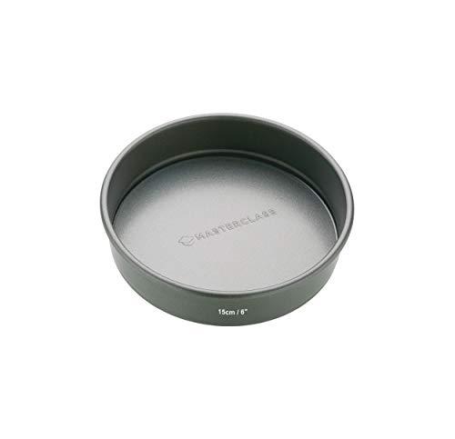Master Class - Molde para tartas (base extraíble, superficie antiadherente, 15 cm)
