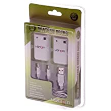 Xbox 360 - Twin Rechargeable Battery Packs [UK Import]