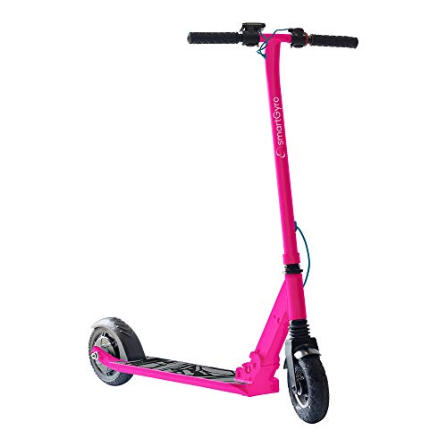 "SMARTGYRO Xtreme XD Pink - Patinete Eléctrico, Ruedas 8\"", 3 Velocidades, Plegable, Ligero, Velocidad 24 Km/h, Autonomía de 15 Km, Freno eléctrico, Scooter Eléctrico, Color Rosa"