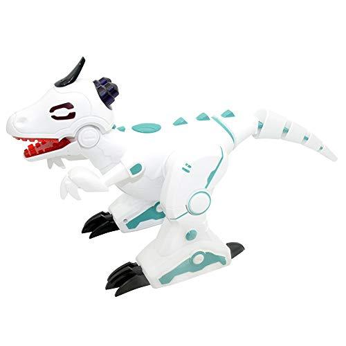Alikeey telecomando effetto fumo intelligente danza robot dinosauri giocattolo regalo di natale natale giocattolo educativi per bambini