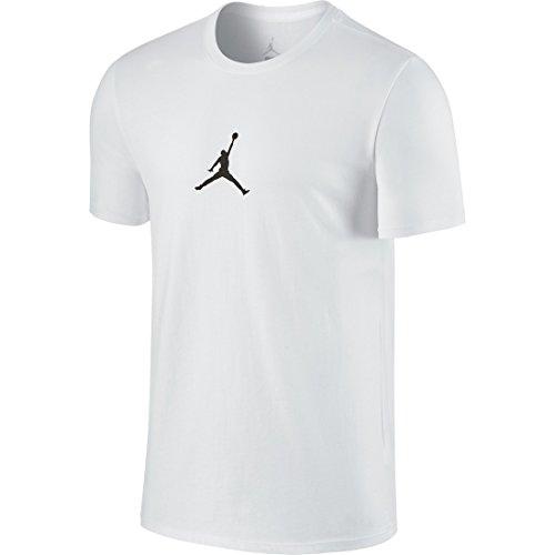Weiße Jordan-t-shirt (Nike Jordan 23/7Tee–Linie Michael Jordan für Shorts S Weiß / Schwarz (Weiß / Schwarz))
