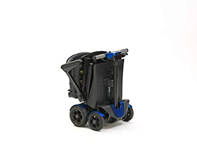 Drive Devilbiss 4 Wheel Automatic Folding Scooter by Remote Control Blue