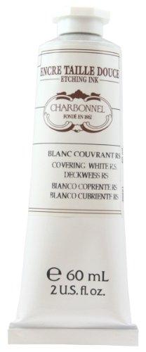 Lefranc & Bourgeois Charbonnel Künstler - Kupferdruckfarben, 60ml Tube - Deckweiß RS
