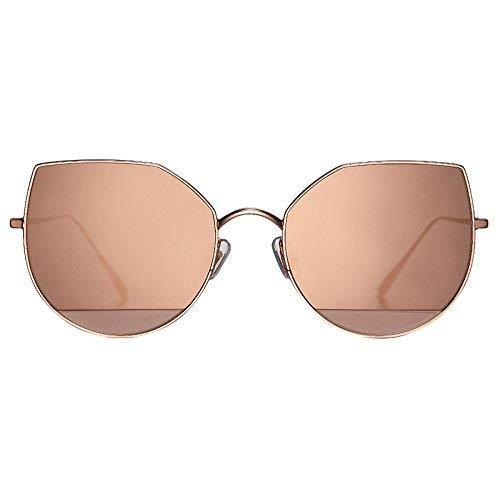 Korean Sonnenbrille weiblichen Stil der Persönlichkeit Katzenauge verwendet 101 runde Gesichtsbrille Sonnenspiegel weibliche Flut Stern Stil