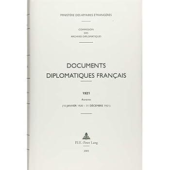 Documents Diplomatiques Francais, 1920-1921: 10 Janvier 1920 - 31 Decembre 1921