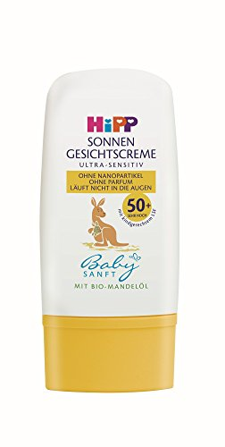 Hipp Babysanft Sonnen Gesichtscreme, 4 Stück (4 x 30ml)