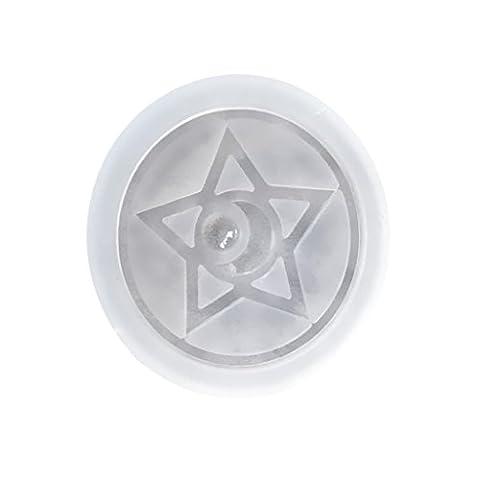 MagiDeal Kristall Silikon Form Transparent Werkzeug Gießform Anhänger Pendant Modell