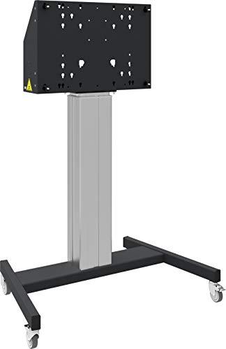 iiyama MD 062B7295 Elektrisch höhenverstellbarer Fahrwagen (600mm) für Large Format (Touch-) Displays von 65 Zoll bis 86 Zoll, max. 120 kg Digital-signage-stand